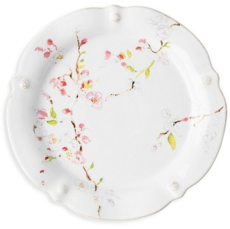 Juliska Berry & Thread Floral Sketch Cherry Blossom Dinner Plate
