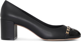 Salvatore Ferragamo Vara chain pumps