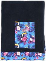 MC2 Saint Barth Toucan Printed Cotton Beach Towel