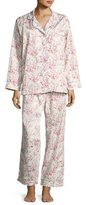 BedHead Floral-Print Classic Pajama Set, Spring Bloom, Plus Size