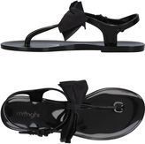 Menghi Toe strap sandals