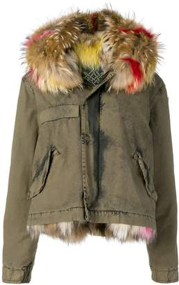 Mr & Mrs Italy hooded lined parka