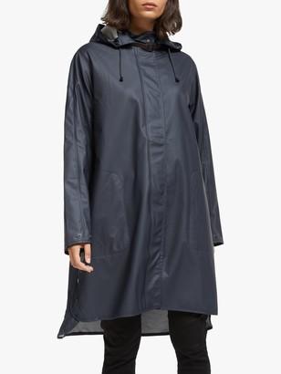 Ilse Jacobsen Hornbk A-Line Raincoat, Dark Indigo