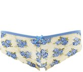 Charlotte Russe Floral Lace Cheeky Panties