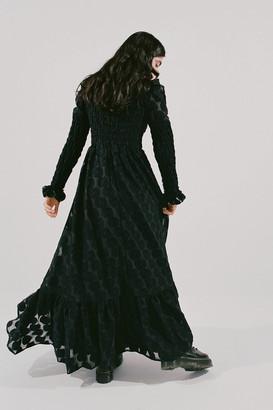 Sister Jane Entertain Shirred Maxi Dress