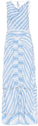 Altuzarra Gaeta striped silk dress