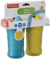 Fisher-Price 2-pk. 3-in-1 Sippy Cups
