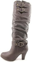 Rampage Eleanor Womens Size 8.5 Faux Leather Fashion Knee-High Boots