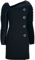 Versace Pre Owned structured buttoned dress