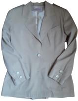 Byblos Beige Cotton Jacket for Women