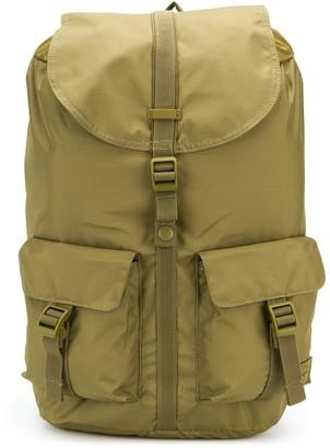 Herschel Multi-Pocket Buckled Backpack