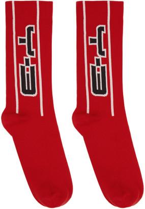 Y-3 Red CH2 Socks