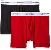 Calvin Klein Men's 2 Pack Modern Cotton Stretch Boxer Brief