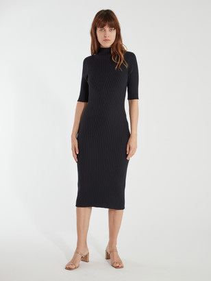 Joie Bryella Mock Neck Knit Midi Dress