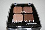 Rimmel EYE Shadow Colour Rush Quad 005 Chocolatine