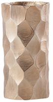 Torre & Tagus Linus Chiseled Brushed Cylinder Small Vase