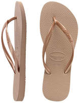Havaianas Slim Metallic Rose Gold
