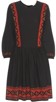 Vanessa Bruno Embroidered Cotton Dress