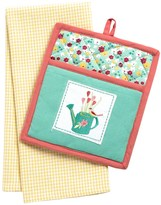 DII Pot Holder and Dish Towel Gift Set