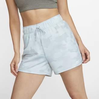 Nike Women's Camo Training Shorts Dri-FIT