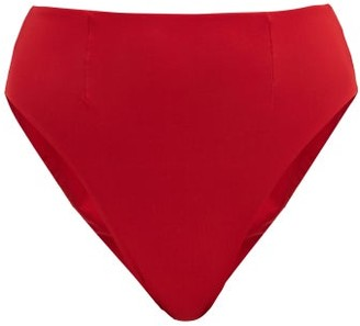 Haight Hotpant Cavada High-rise Bikini Briefs - Red