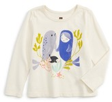 Tea Collection Infant Girl's Selkie Graphic Tee