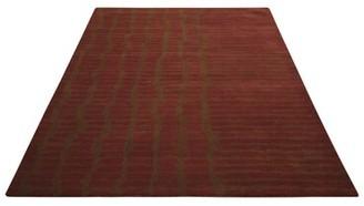 "Calvin Klein Luster Wash Everglade Brick Area Rug Rug Size: Rectangle 8'3"" x 11'"