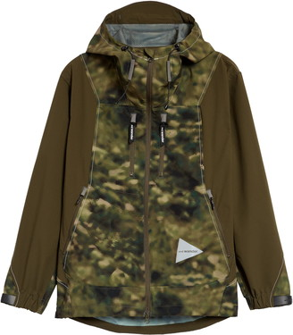 And Wander UV Shield Water Repellent Jacket