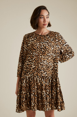 Seed Heritage Leopard Swing Dress