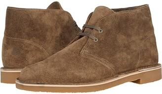 Clarks Bushacre 3 (Dark Brown Leather) Men's Shoes