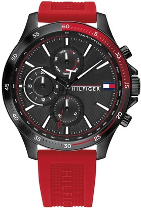 Tommy Hilfiger 1791722 Chronograph Watch Red