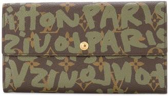 Louis Vuitton Pre-Owned Graffiti Monogram Card Holder