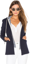 Central Park West Savannah Hooded Blazer