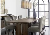 """Crate & Barrel Monarch Shiitake 108"""" Dining Table"""