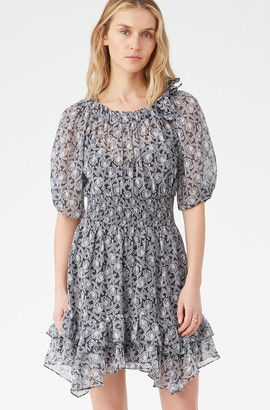 Rebecca Taylor Catarina Floral Dress
