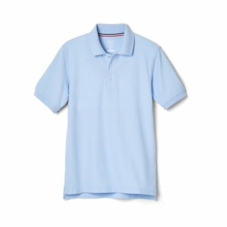French Toast Young Men's Short Sleeve Pique Polo