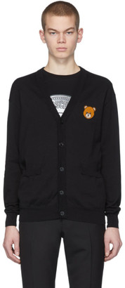 Moschino Black Teddy Cardigan
