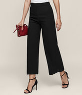 Reiss New Collection Flynn Wide-Leg Cropped Trousers