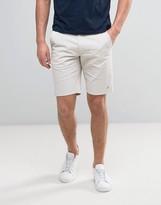 Farah Hawk Straight Chino Shorts in Light Gray