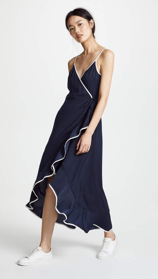 The Fifth Label Juliette Wrap High Low Dress