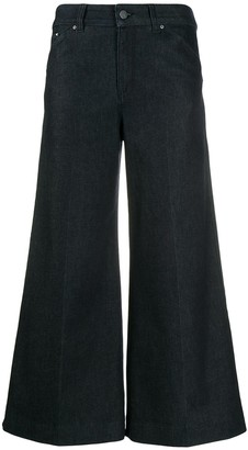 Karl Lagerfeld Paris flared denim culottes