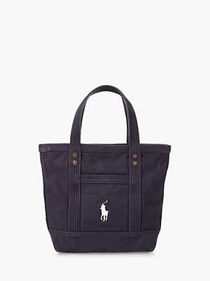 Ralph Lauren Polo Tote Bag, Navy