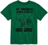 Novelty T-Shirts Short-Sleeve Activity Tee