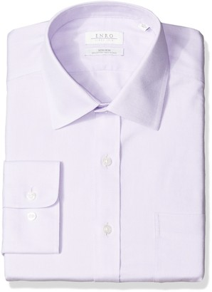 Enro Men's Big and Tall Beverly Queens Oxford Non-Iron Big & Tall Dress Shirt