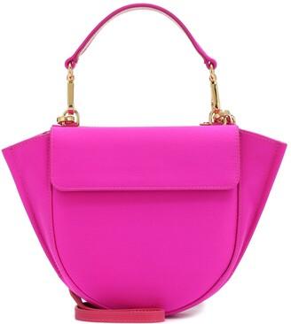 Wandler Exclusive to Mytheresa Hortensia Mini satin shoulder bag