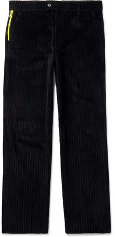 Aries Wide-Leg Cotton-Corduroy Trousers
