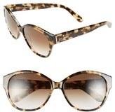 Kate Spade Women's 56Mm Sunglasses - Camel Tortoise