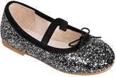 Bloch Sparkle (Toddler) - Black/Silver-21 EU (5 US)