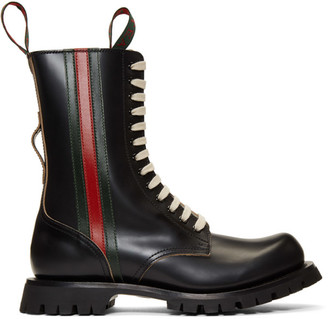 Gucci Black Arley Boots