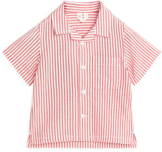 Arket Seersucker Baby Resort Shirt
